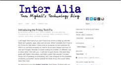 Preview of inter-alia.net