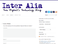 Tablet Preview of inter-alia.net